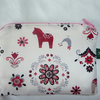 Christmas coin purse