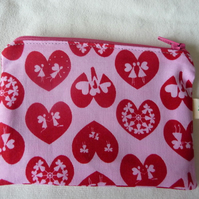hearts and fairies coin purse