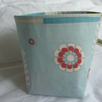duck egg blue storage pot