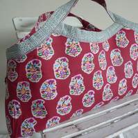 Asha Knitting Bag