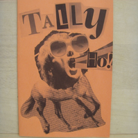 'Tally Ho!' Orange & Green B&W Zine (Colour Block Series)