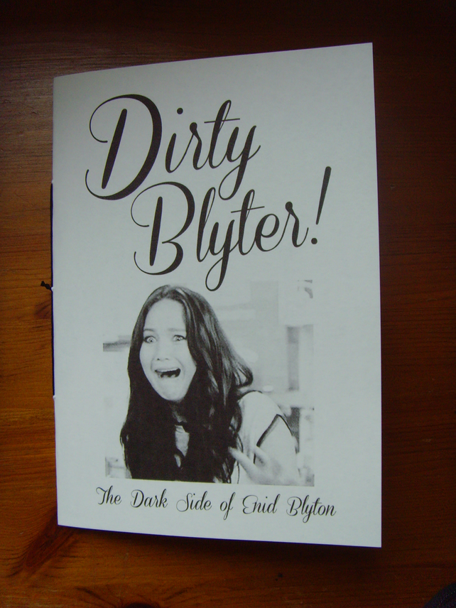 Dirty Blyter! Black & White Adult Zine