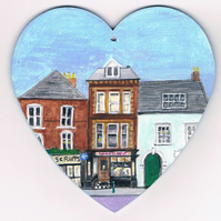 the Barber shop heart