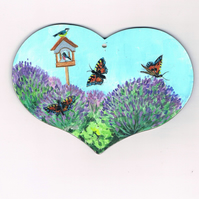 lavenders and butterflies