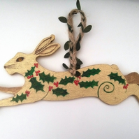 Holly King hare