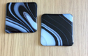 Fused glass coasters & dishes