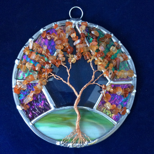 Special edition Carnelian tree of life  (0513)