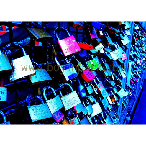 Love Locked - A3 Mounted Photographic Art Print