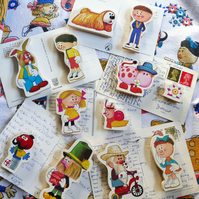 Magic Roundabout Fridge Magnets - Noticeboard Magnets