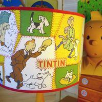 Bespoke Handmade Lampshades with Vintage Children's Fabrics
