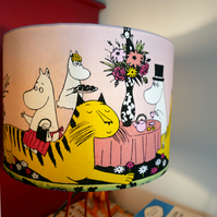 Moomin Lampshade - Handmade - Table Lamp - 30cm