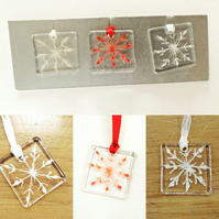 Christmas decoration gift set - snowflakes