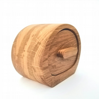 Oak trinket box