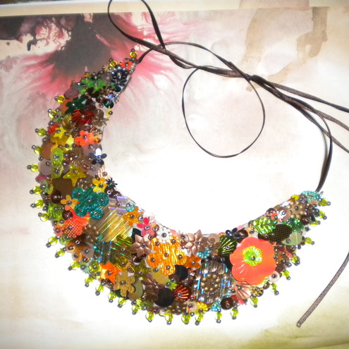 Autumnal Sparkle Necklace