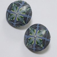 Arjuna Round Stud Earrings