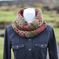 Infinity scarf, cowl, snood, gift for her