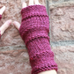 Fingerless gloves, knitwear for her