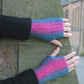 Fingerless gloves, funky mittens
