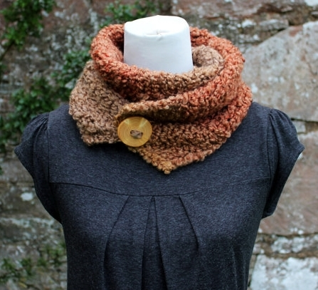 Knitted soft scarf, gift guide womens