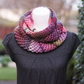 Scarf purple chunky womans, knitted snood, cowl, gift guide for her