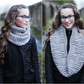 Scarf knitted womens, cowl snood, gift guide for her