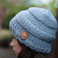 Knitted hat, womens beanie, gift guide for her