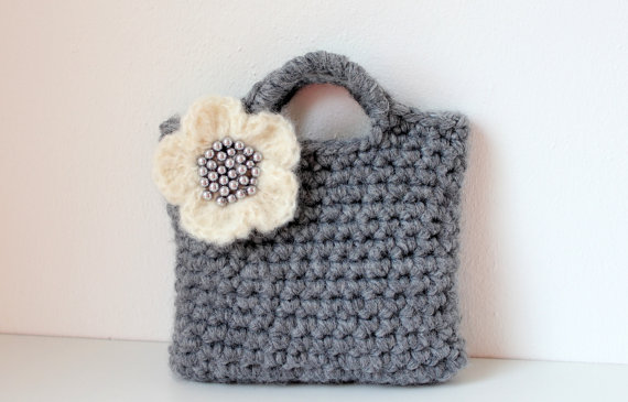 Little girls little purse, flower bag