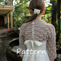 Knitting pattern, shrug, bolero pattern