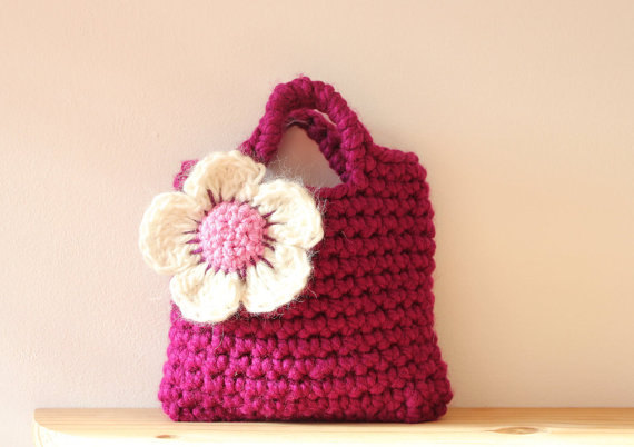 Little S Purse Flower Bag Handmade Gifts For