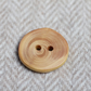 Button wooden, eco handcrafted reclaimed timber