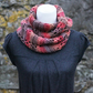 SCARF infinity, cowl, snood chunky womens, gift guide for her