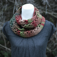 Scarf infinity, cowl, snood, gift guide for her