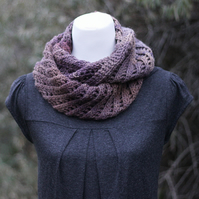 Scarf infinity, womens cowl, snood, gift guide for her