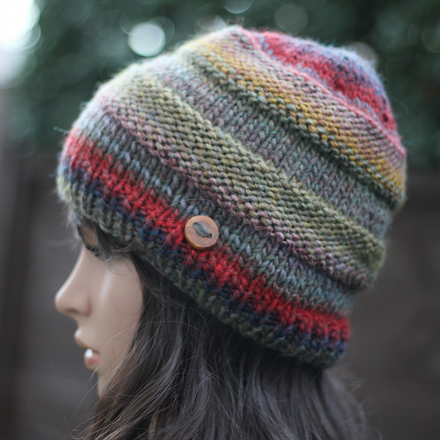 Hat knitted, womens beanie, gift guide for her