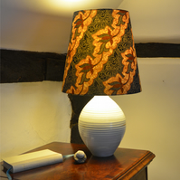 Indonesian Batik Lampshade