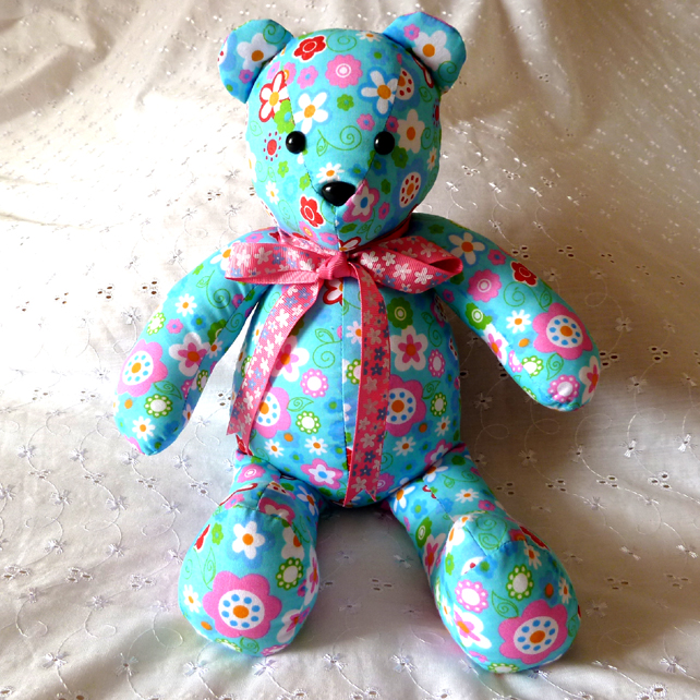 Home Decor Multi-Coloured Teddy Bear