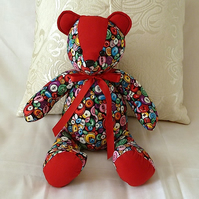 Teddy Bear with Button Design ( decorative teddy bear)