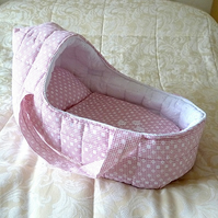 Large Doll's Carrycot fits dolls up to 18 inches