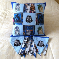 Star Wars Cushion and Bunting