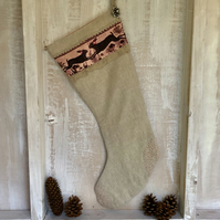 Hares Christmas Stocking