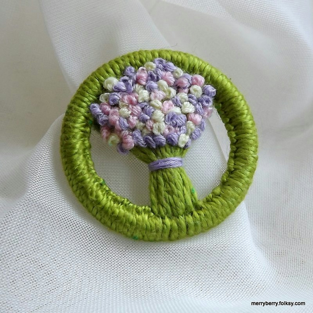 Brooch Dorset Button