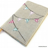 Bunting Fabric Notebook