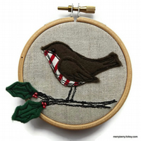 Sale Robin Embroidery Hoop