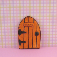 Handmade Wood Effect Fairy Door  for Fairies made by val