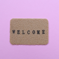 Handmade Welcome Fairy Doormat for Fairy Doors made by val