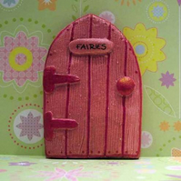 Handmade Pink Fairy Door