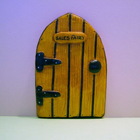 """Sales Fairy"" Door Custom Made For Eidelweiss"