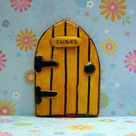 Handmade Wood Effect Fairy Door