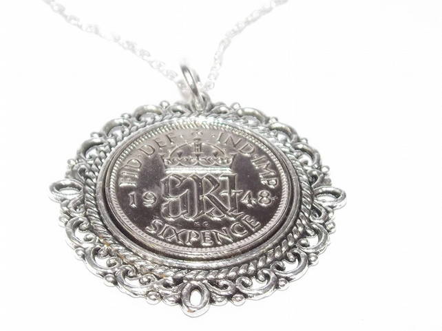 Fancy Pendant 1949 70th birthday gifts for women, 1949 Birthday Gift, 70th Birth