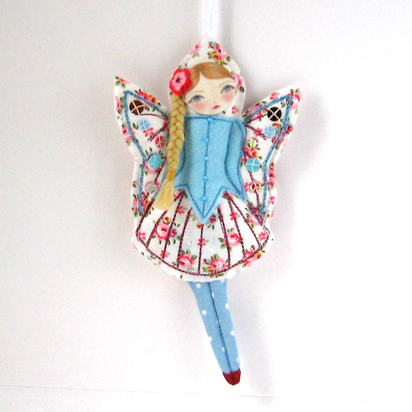 Flower Fairy ornament
